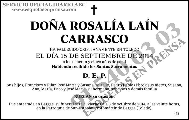Rosalía Laín Carrasco